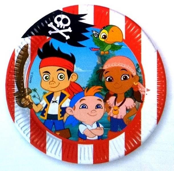 Piatti dessert party Jake e i Pirati dell'Isola che non c'è