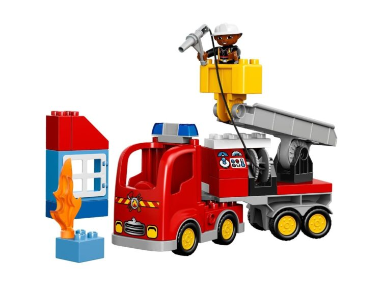 LEGO Duplo - Autopompa Dei Pompieri