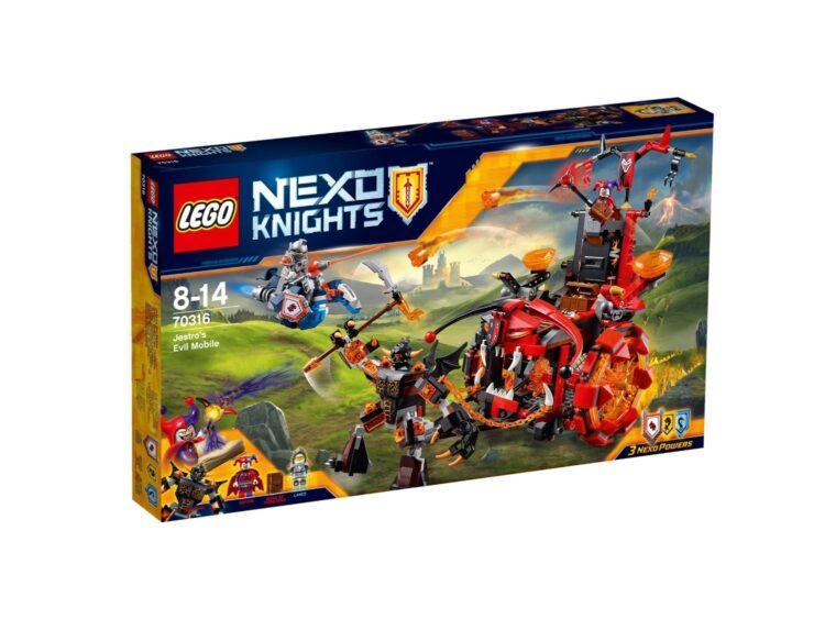 Nexo Knights Il Carro Malefico di Jestro