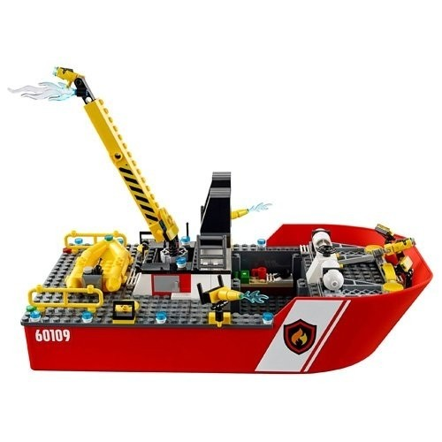 Pompieri Motobarca Antincendio LEGO - City