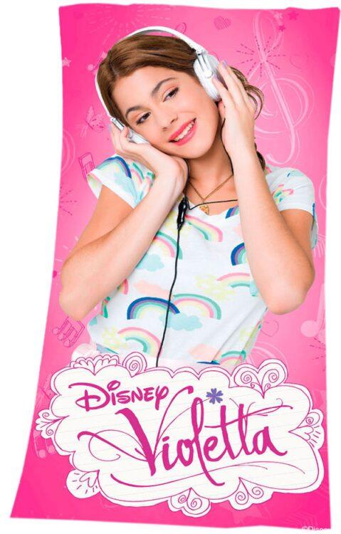 Asciugamano Telo Mare Violetta Disney