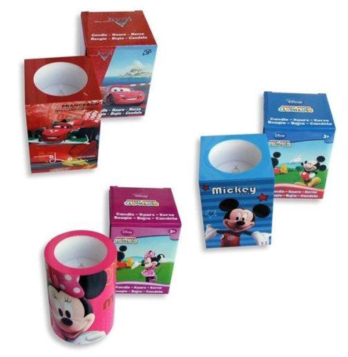 Candela a led Disney Mickey