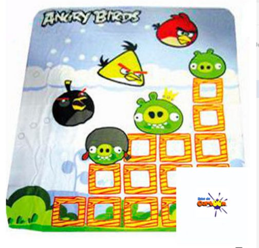 Plaid pile Angry Birds