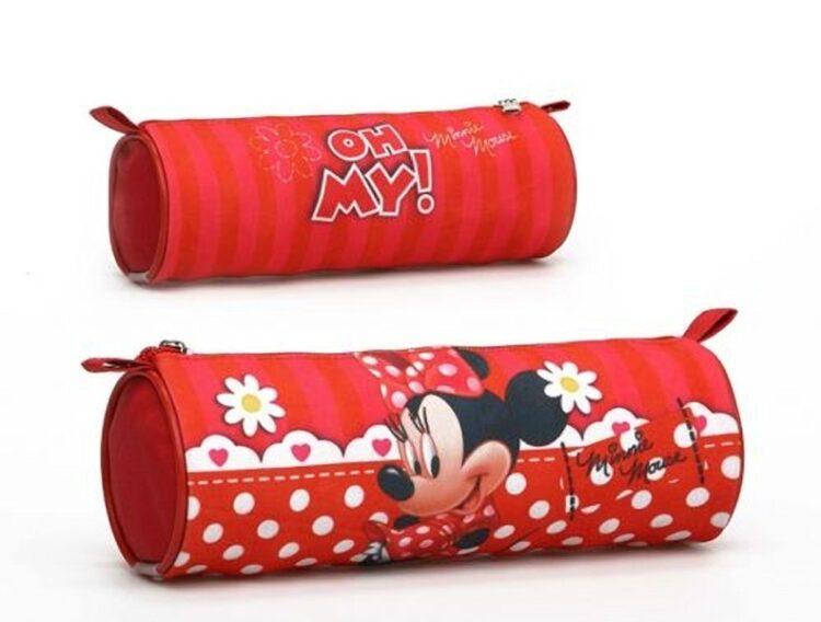 Astuccio Tombolino Disney Minnie Pois