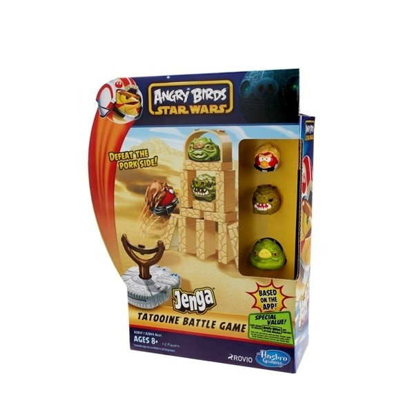 Angry Birds - Star Wars Jenga Battle Game