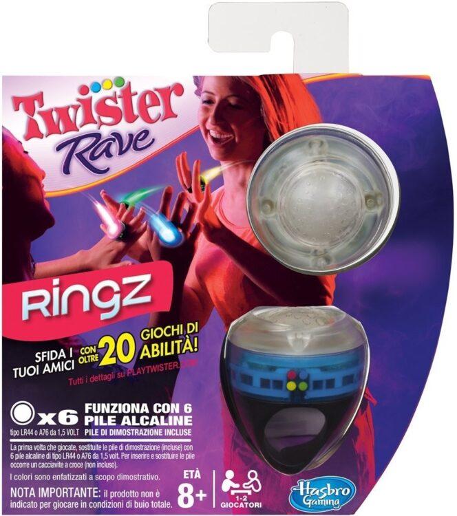 Hasbro - Twister Rave Ringz, Con Dettaglio Assortito (In Italiano)