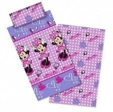 Completo lenzuola letto singolo Disney Minnie