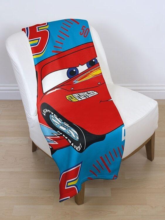 Plaid Pile Disney Cars Champ