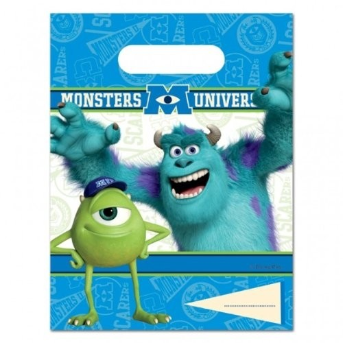 Monster University - Confezione 6 Party Bags