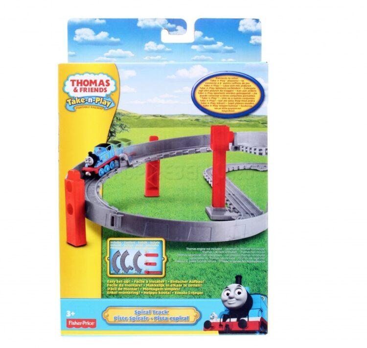 Trenino Thomas Take-n-play pista spirali