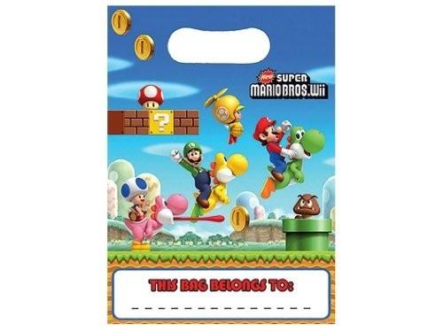 Super Mario - Confezione 8 Party Bags