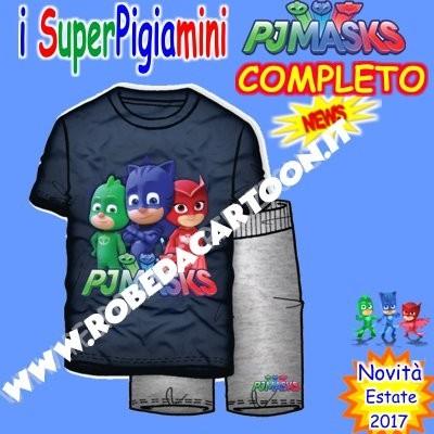 Completo bambino Super Pigiamini Rosso/Blu