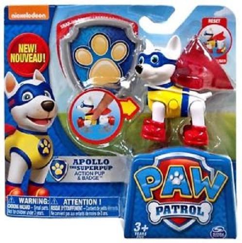 Personaggio Paw Patrol con zainetto salvataggio
