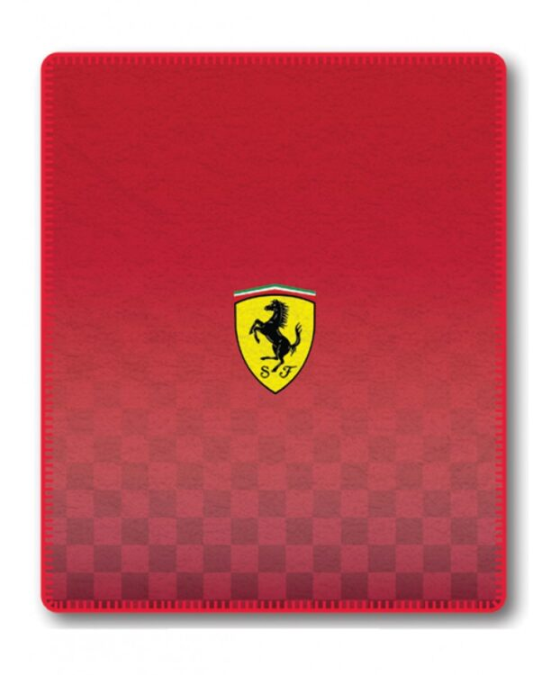 Plaid pile Ferrari