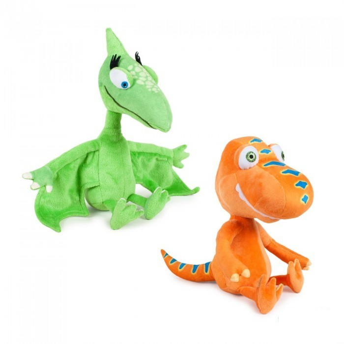 Peluche Buddy e Tiny Il Treno dei Dinosauri