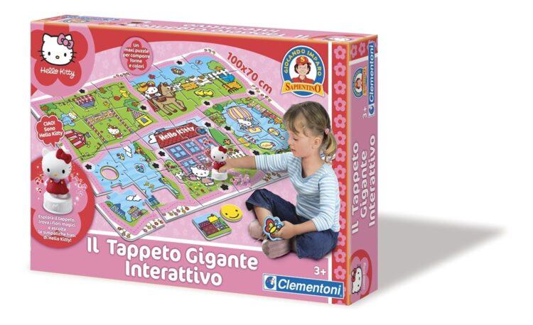Hello Kitty Tappeto Gigante Interattivo