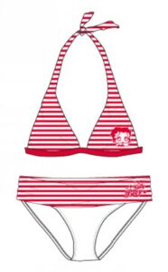 Bikini Betty Boop bimba righine