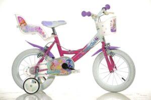 Bicicletta con rotelle Winx 16 pollici 6-9 anni