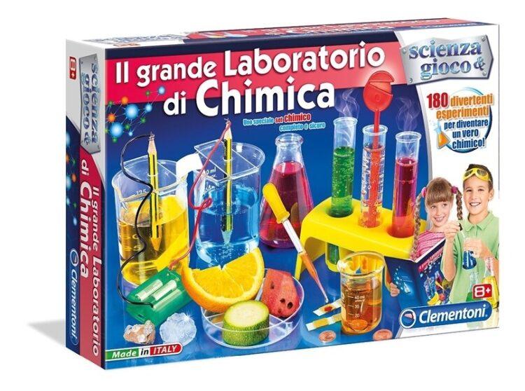 Il grande laboratorio di chimica