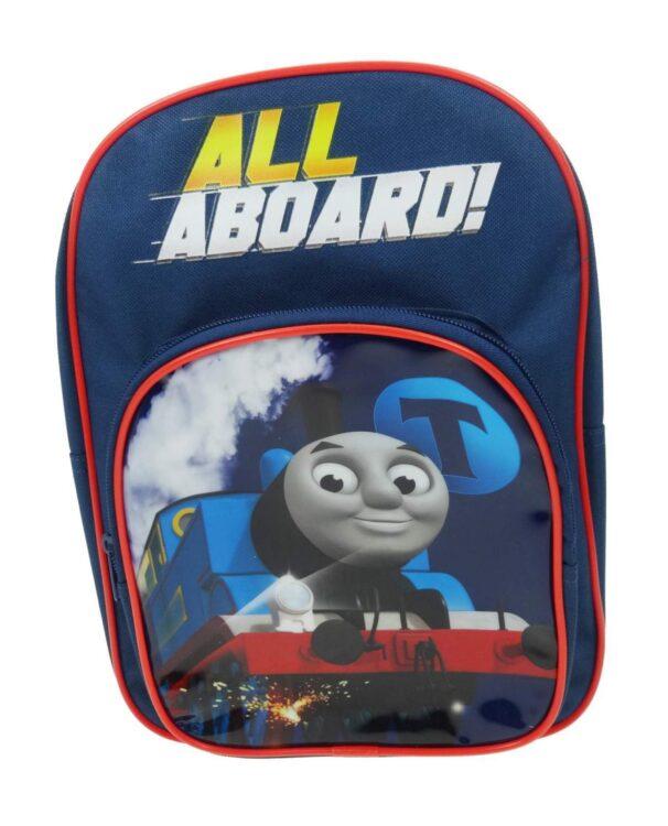 Zaino asilo con tasca Trenino Thomas All Aboard