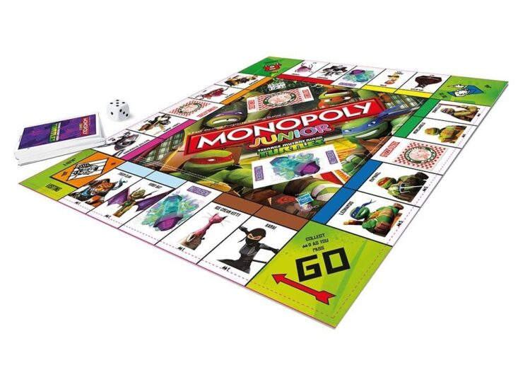 Monopoly TMNT Junior