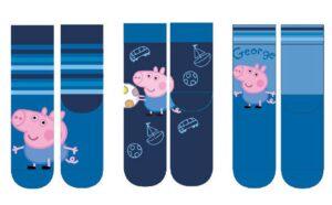 Calzini Peppa Pig George azzurri