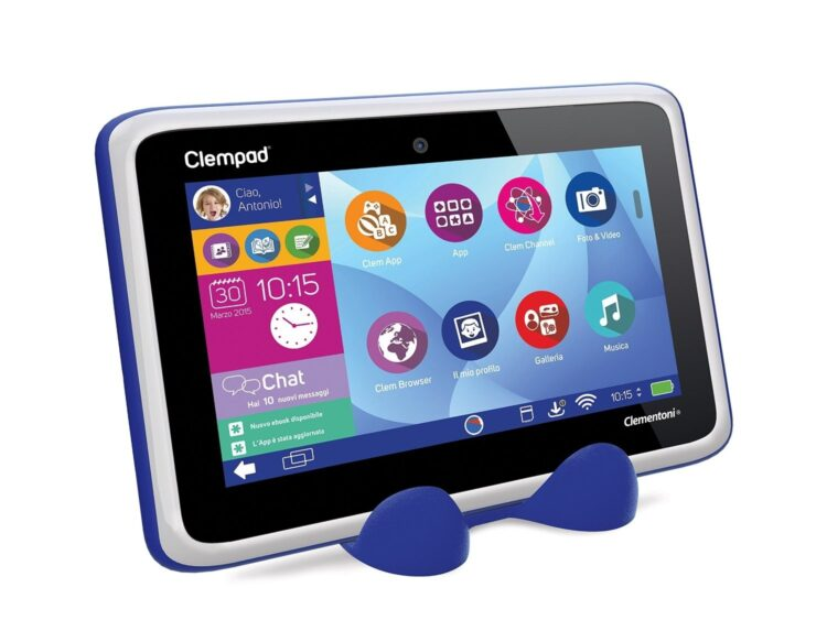Clempad 5.0 Plus Tablet Educativo con Cuffie Incluse