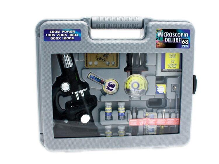 Valigetta con Microscopio in Metallo