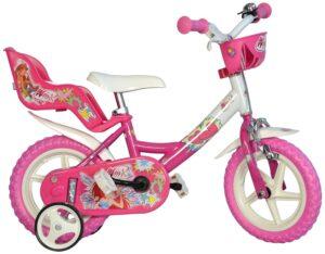 Bicicletta con rotelle Winx 12 pollici 3-5 anni