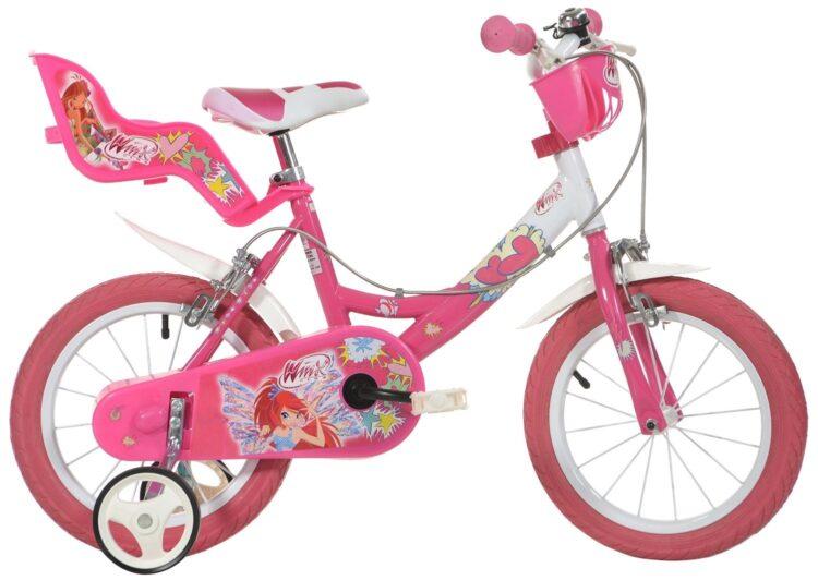 Bicicletta con rotelle Winx 14 pollici