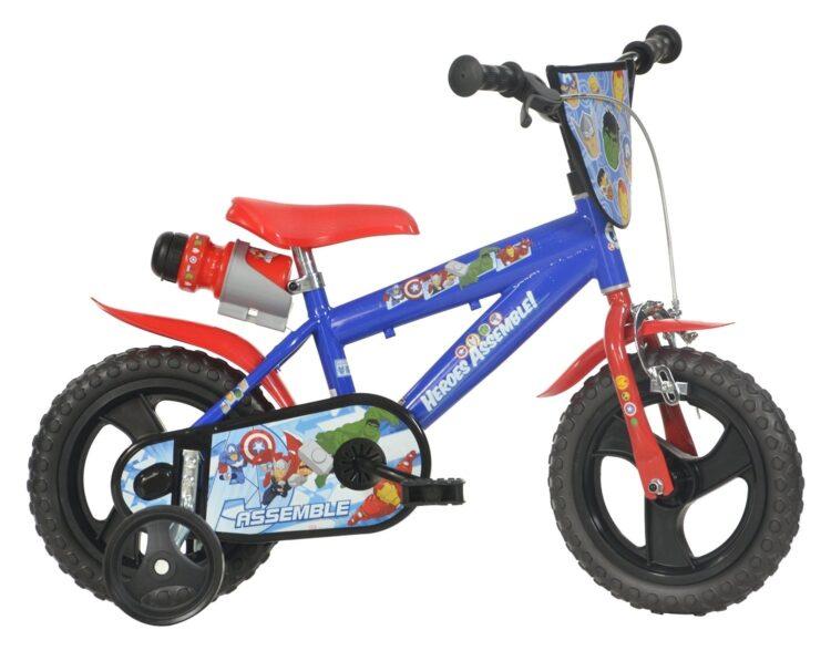 Bicicletta con rotelle Marvel Avengers 12 pollici