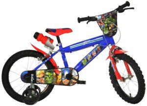 Bicicletta con rotelle Marvel Avengers 14 pollici