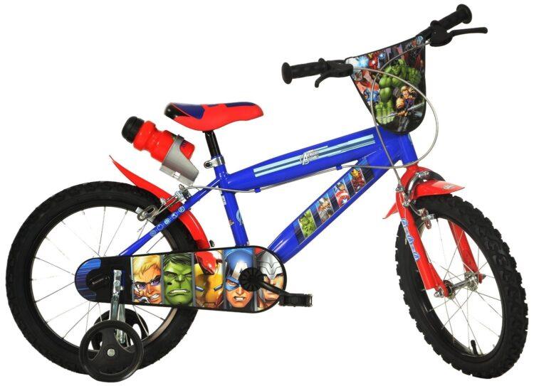Bicicletta con rotelle Marvel Avengers 16 pollici