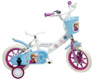 Bicicletta con rotelle Disney Frozen 12 pollici