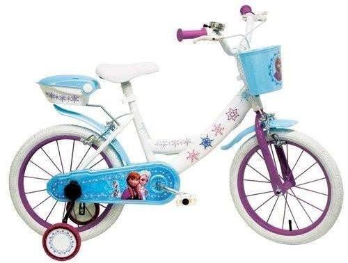 Bicicletta con rotelle Disney Frozen 14 pollici 4-7 anni