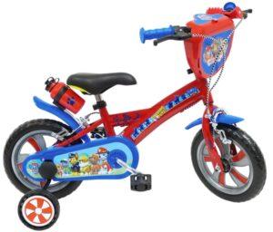 Bicicletta con rotelle Paw Patrol 12 pollici