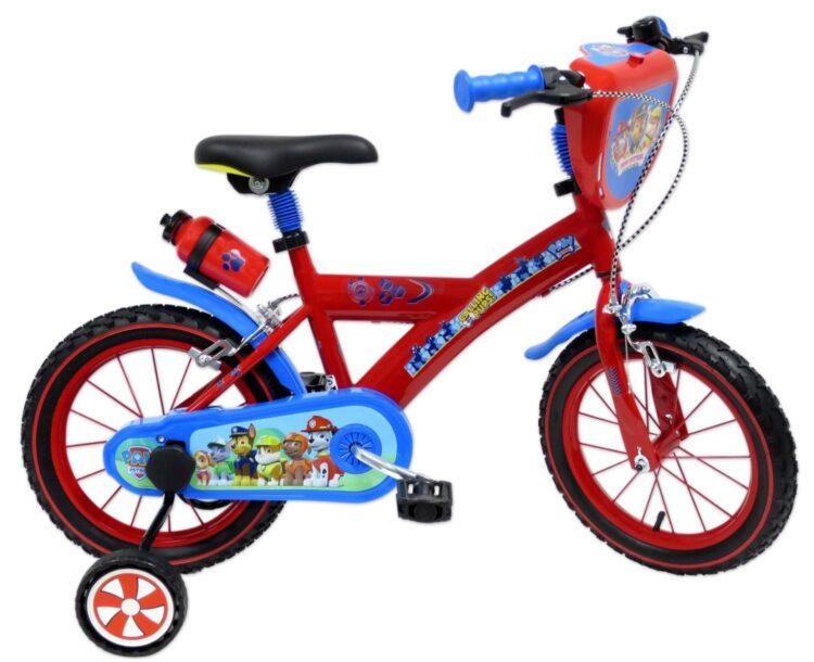 Bicicletta con rotelle Paw Patrol 14 pollici