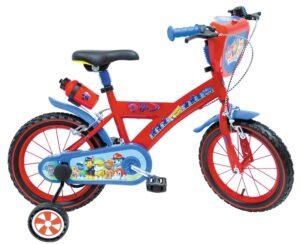 Bicicletta con rotelle Paw Patrol 16 pollici