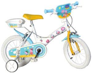 Bicicletta con rotelle Peppa Pig 12 pollici