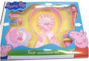 Set regalo accessori per capelli Peppa Pig