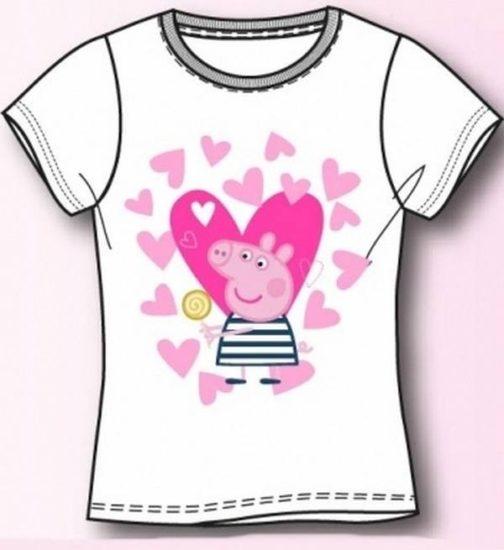 """T-shirt bimba Peppa Pig """"Lecca Lecca"""""""