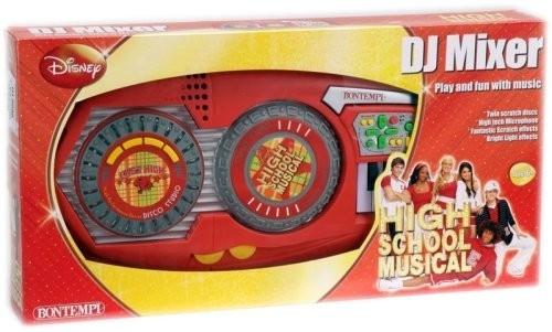 Mixer studio per DJ High school musical