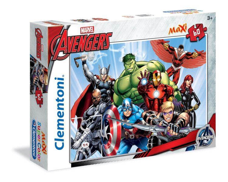 Avengers Maxi Puzzle 60 Pezzi