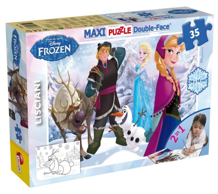 Puzzle Disney Frozen Anna, Elsa Kristoff 35pz