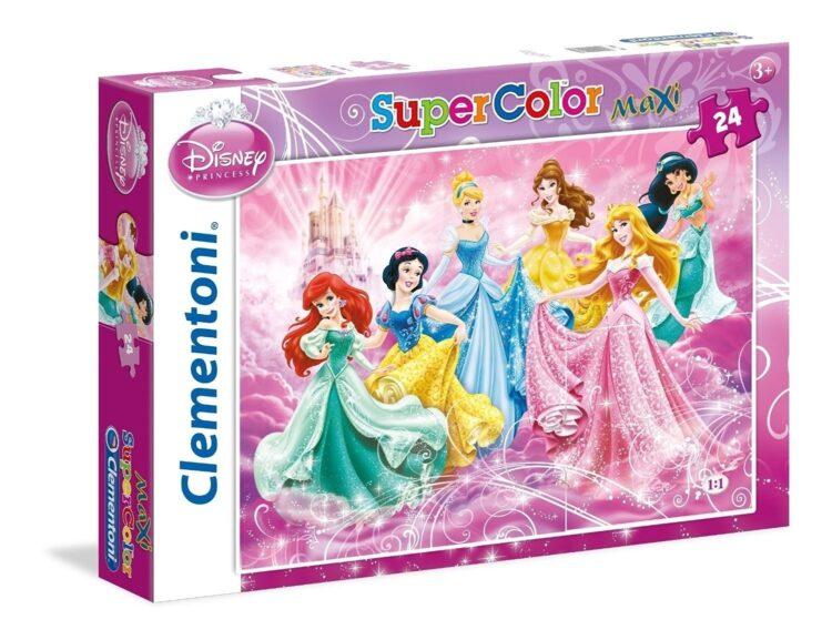 Principesse Disney Maxi Puzzle 24 Pezzi
