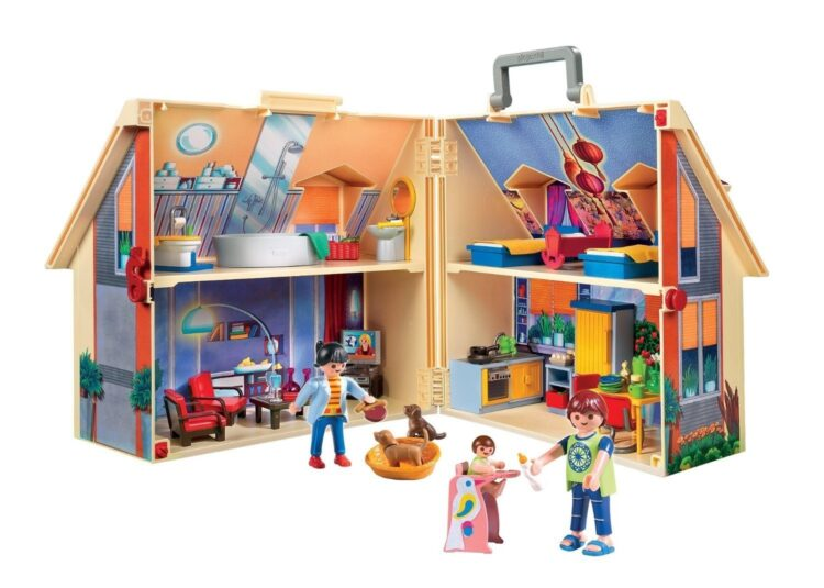 Playmobil - Casa delle bambole portatile