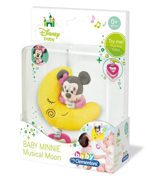 Baby Minnie Morbida Luna Musicale