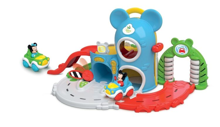 Baby Topolino Garage Interattivo
