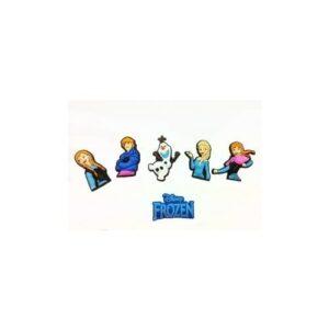 Set 6 Jibbitz per Crocs Disney Frozen