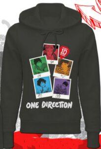 Felpa con cappuccio One Direction